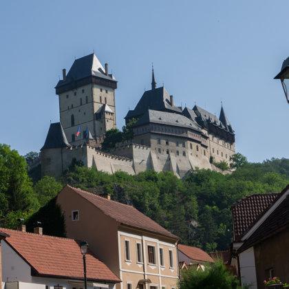 Karlštejnas pils, Čehija
