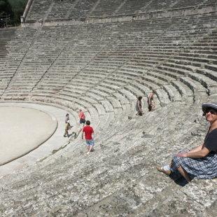 Epidarvos amfiteātris Grieķijā