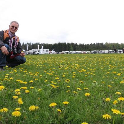 Igauņu kemperceļotāju 21. salidojums Latvijā, kempingā Turbas