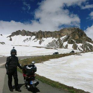 Grosglockner Austrijas Alpos