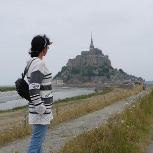 Mont Saint-Michel, Francija