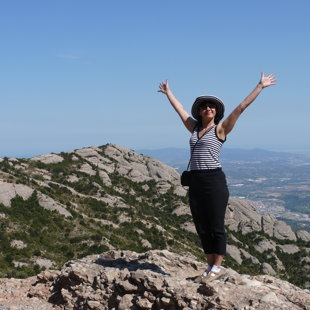 Montserrat kalnā Spānijā