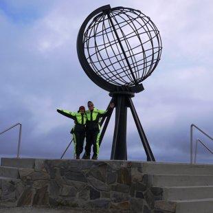 Pats tālākais Eiropas ziemeļu punkts - Nordkaps Norvēģijā